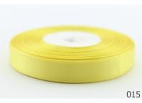 Лента атлас 0,5 см лимонная. Заказ от 5 м