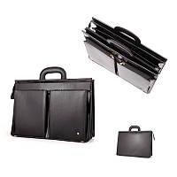 Кожаная деловая сумка-портфель для мужчины