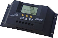 Контроллер заряда PWM 30A 12/24В CM3024Z JUTA, фото 1