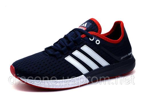 Кроссовки мужские Adidas Gazelle Boost, текстиль, темно-синие