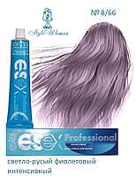 Професійна фарба Estel Essex 8/66 Естель Есекс світло-русявий інтенсивний фіолетовий