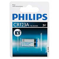 Батарейка PHILIPS CR123A Lithium