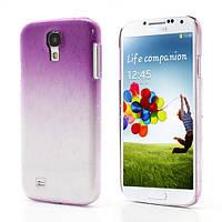 """Чехол пластиковый на Samsung Galaxy S4 IV i9500 """"Капли дождя"""", фиолетовый"""