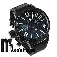 Бюджетные часы U-Boat Italo Fontana U-1001 Black/Black/White