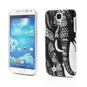 """Чехол пластиковый на Samsung Galaxy S4 IV i9500 """"Индийский слон"""""""