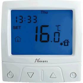 Терморегулятор для теплої підлоги Nexans Millitemp CDFR–003 програмований