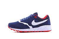 Кроссовки мужские Nike Air Max 87  (в стиле найк аир макс 87) синие, фото 1