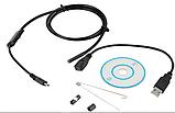 Usb ендоскоп водонепроникний HD 1м 5,5 мм, фото 2