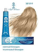 Профессиональная краска Estel Essex 10/0 Эстель Эсекс светлый блондин платиновый блондин