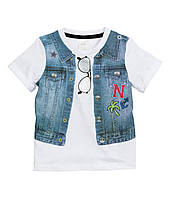 Детская футболка для мальчика 9-12 месяцев