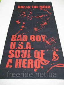 Летний бафф, buff, бесшовный шарф, повязка (#73)