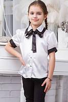 Школьная блузка для девочки sh16