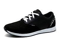 Туфли спортивные мужские Folla Crock, черные, кожа, р. 40