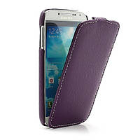 Чехол книжка Melkco Premium Leather для Samsung Galaxy S IV S4 i9500, фиолетовый