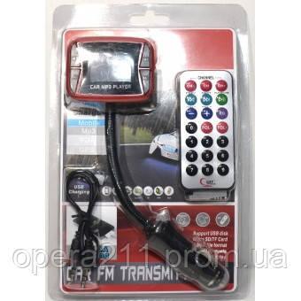 FM модулятор 855 с Aux входом