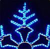 """Светодиодная фигура """"снежинка"""" -2*2M"""