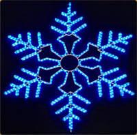"""Светодиодная фигура """"снежинка"""" LED-SF21-3.5*3.5M"""