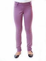 Подростковые штаны для девочки р128-146 св.баклажан