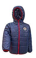 Детская куртка демисезонная на мальчика № 4016 (рост: 98,104,110,116)