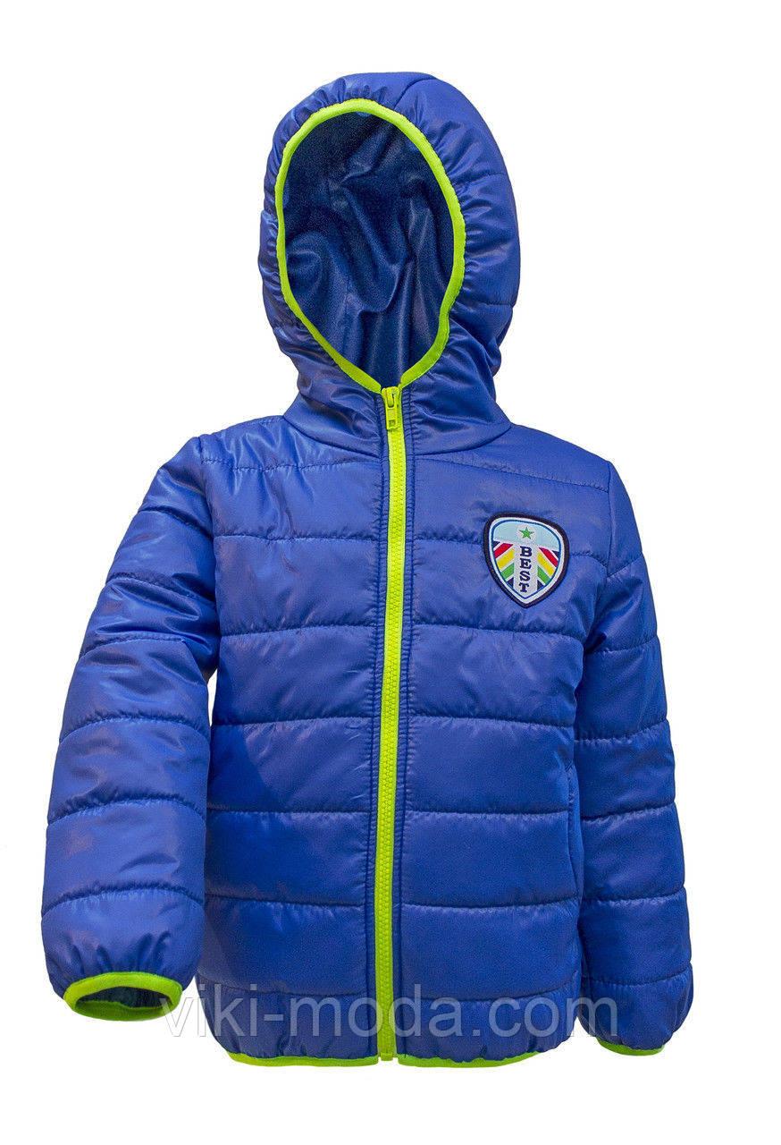 Куртка демисезонная на мальчика № 4021 (рост: 98,104,110,116)
