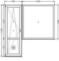 Металлопластиковые окна ВДС Днепропетровск, фото 1