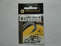Крючок Scorpion dry fly №8