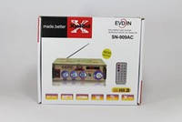Усилитель AMP 909 Small, усилитель мощности звука, компактный усилитель звука
