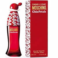 Moschino Cheap And Chic Chic Petals edt 100 ml - Женская парфюмерия