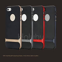 TPU+PC чохол Rock Royce Series для Apple iPhone 5/5S