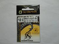 Крючок Scorpion dry fly №12