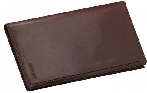 Бесподобная кожаная обложка для карточек Verus 34B MN коричневый