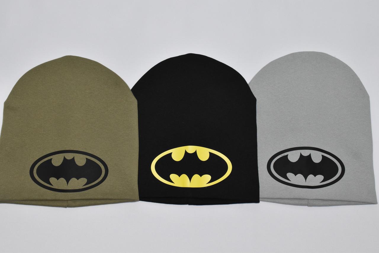 Детская трикотажная шапка Бетмен
