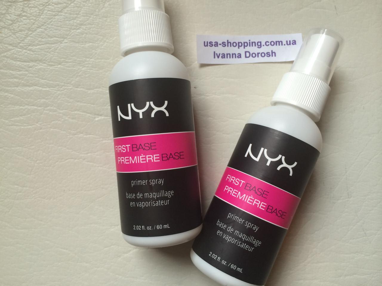 Праймер-спрей NYX First Base Primer Spray