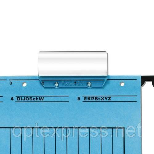 Прозрачный пластиковый табулятор для подвесных папок  FALKEN 80002033