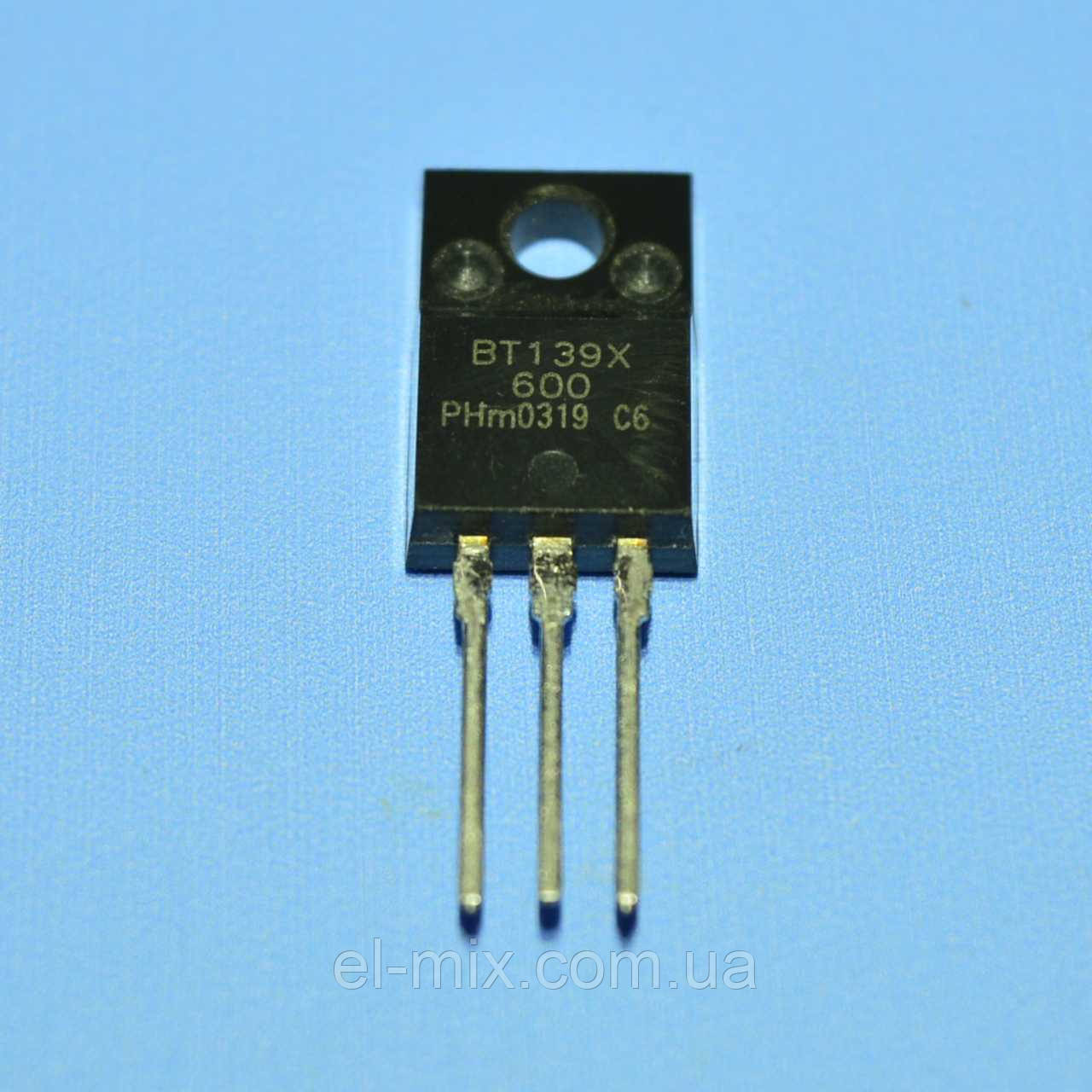 Симистор BT139X-600  TO-220F  Philips