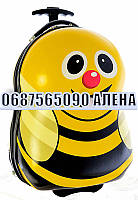 """2178-1 Чемодан на 2-х колесах """"Пчелка"""" 17"""""""