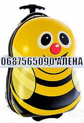 """Чемоданы детские качество Люкс на 2-х колесах """"Пчелка"""" 17 2178-1"""