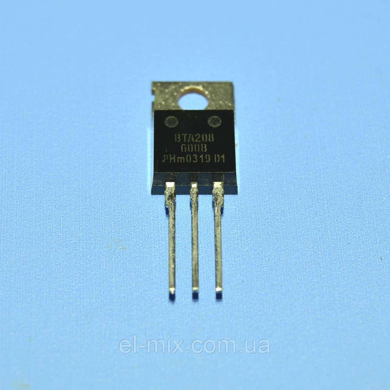 Симистор BTA208-600B  TO-220  Philips
