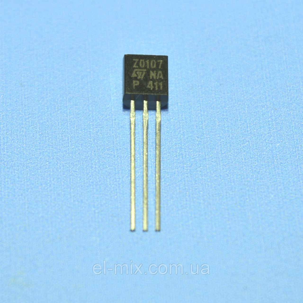 Симистор Z0107MA  TO-92  STM