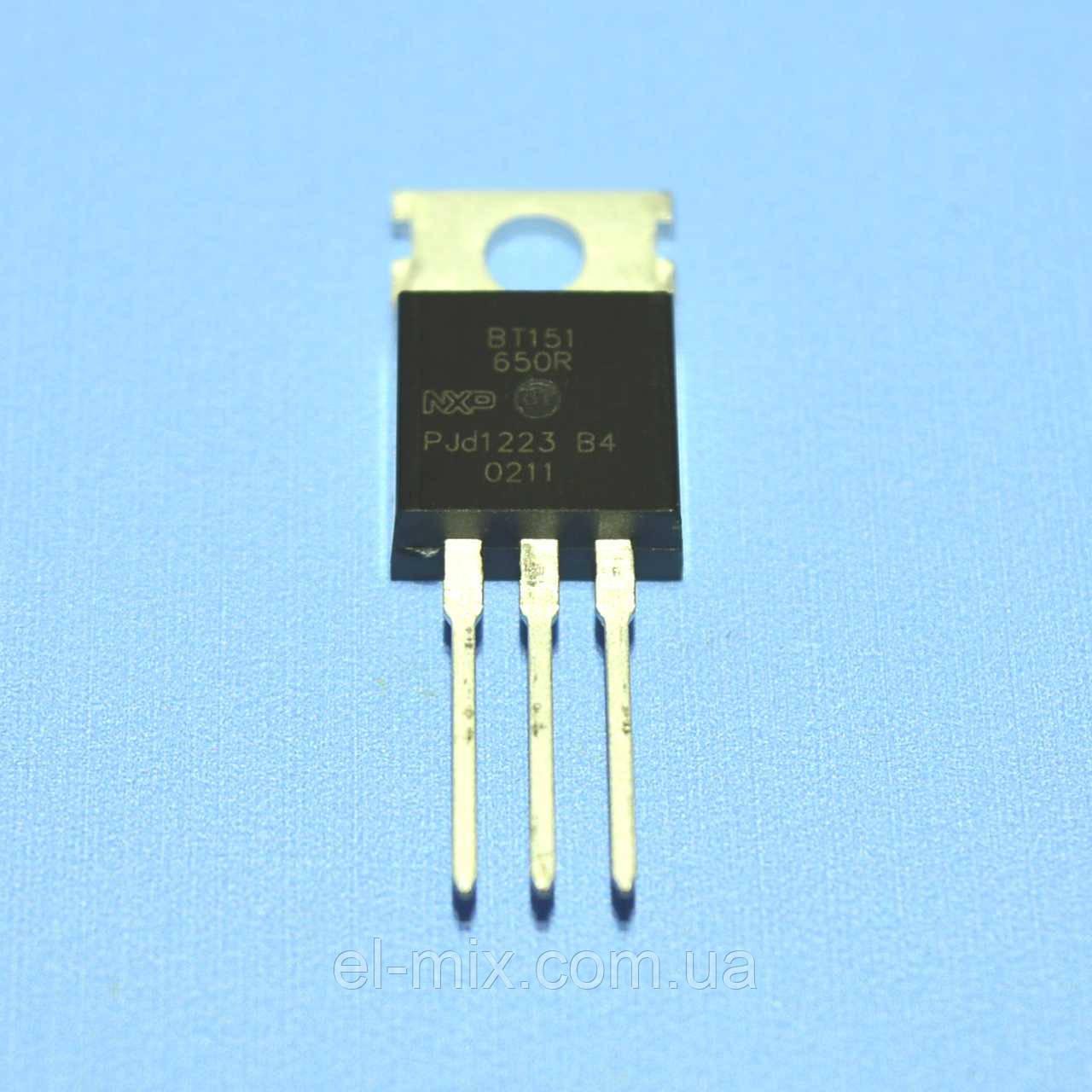 Тиристор BT151-650R  TO-220  NXP
