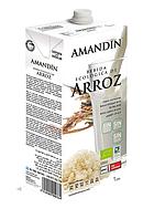 ВЕГА молоко рисовое натуральное BIO 1 л Amandin
