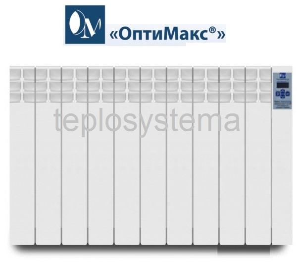 Электрический радиатор (электрорадиатор) ОптиМакс STANDARD - 10 секций 1200 Вт