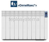 Электрический радиатор (электрорадиатор) ОптиМакс STANDARD - 11 секции 1320 Вт