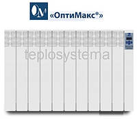 Электрический радиатор (электрорадиатор) «ОптиМакс®» - 10 секции -  1200 Вт