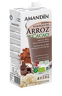 ВЕГА молоко рисовое с какао BIO 1 л Amandin