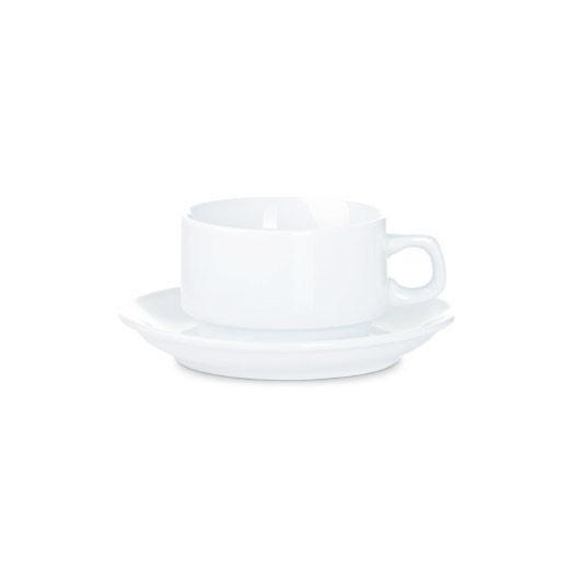 Набор фарфоровый чашка с блюдцем для американо