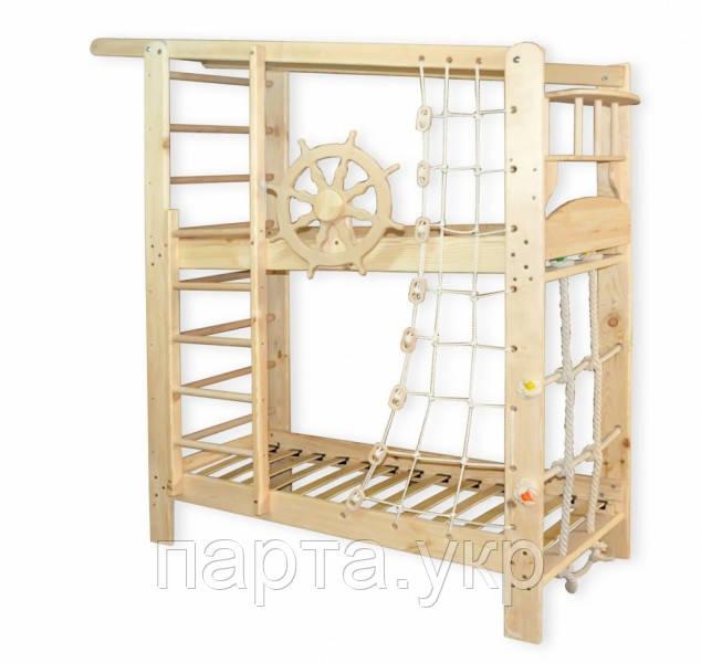 """Спортивная двухъярусняа кровать """"Юнга"""""""