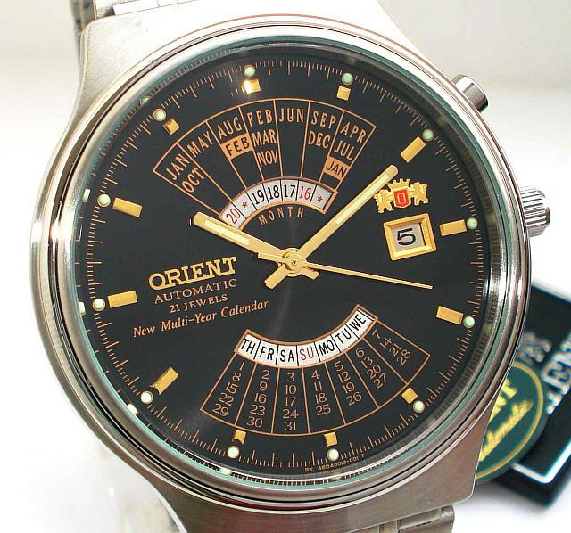 bb606a68 Механические наручные часы Orient Automatic Multiyear- 6 вариантов ...