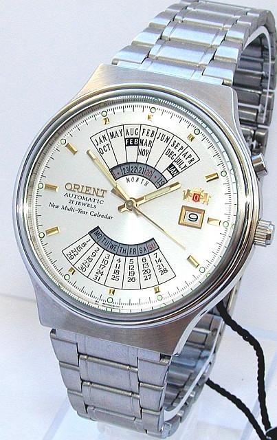 ... Механические наручные часы Orient Automatic Multiyear- 6 вариантов, ... 37e8e81dfb8