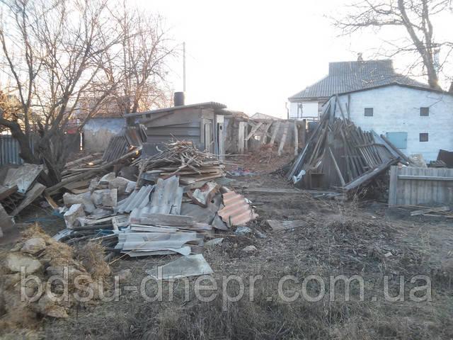 Демонтаж и вывоз в Днепропетровске фото